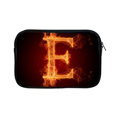Fire Letterz E Apple Ipad Mini Zipper Cases by Alisyart