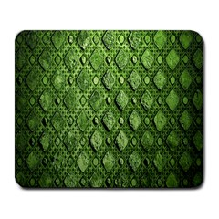 Circle Square Green Stone Large Mousepads by Alisyart