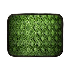 Circle Square Green Stone Netbook Case (small)  by Alisyart