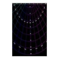 Formula Number Line Purple Natural Shower Curtain 48  X 72  (small)  by Alisyart