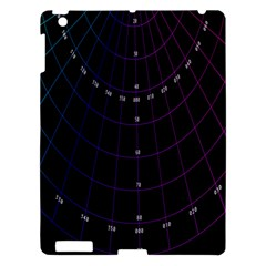 Formula Number Line Purple Natural Apple Ipad 3/4 Hardshell Case by Alisyart