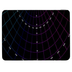 Formula Number Line Purple Natural Samsung Galaxy Tab 7  P1000 Flip Case by Alisyart
