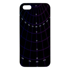 Formula Number Line Purple Natural Iphone 5s/ Se Premium Hardshell Case by Alisyart