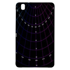 Formula Number Line Purple Natural Samsung Galaxy Tab Pro 8 4 Hardshell Case by Alisyart
