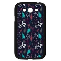 Fruit Pear Apple Purple Pink Blue Samsung Galaxy Grand Duos I9082 Case (black) by Alisyart