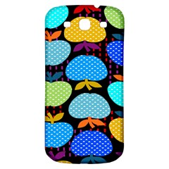 Fruit Apples Color Rainbow Green Blue Yellow Orange Samsung Galaxy S3 S Iii Classic Hardshell Back Case by Alisyart
