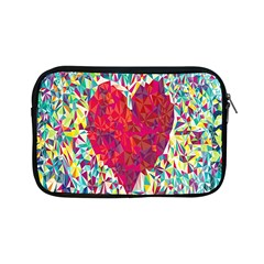 Geometric Heart Diamonds Love Valentine Triangle Color Apple Ipad Mini Zipper Cases by Alisyart