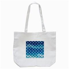 Goose Swan Anchor Blue Tote Bag (white) by Alisyart