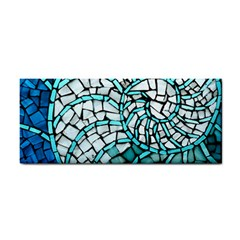 Glass Mosaics Blue Green Cosmetic Storage Cases by Alisyart