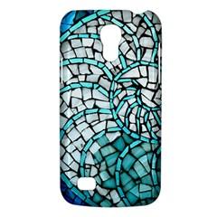 Glass Mosaics Blue Green Galaxy S4 Mini by Alisyart