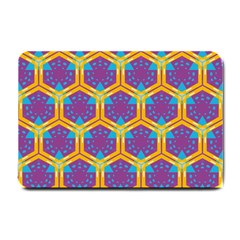 Yellow Honeycombs Pattern                                                          			small Doormat