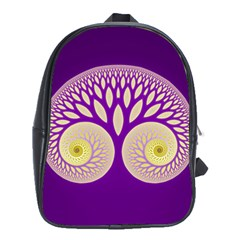 Glynnset Royal Purple School Bags (xl)  by Alisyart