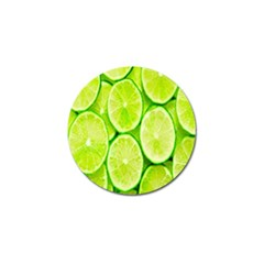 Green Lemon Slices Fruite Golf Ball Marker by Alisyart