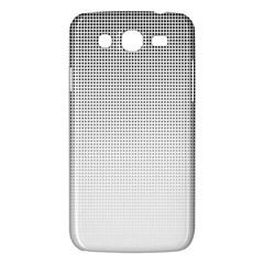 Halftone Simple Dalmatians Black Circle Samsung Galaxy Mega 5 8 I9152 Hardshell Case  by Alisyart