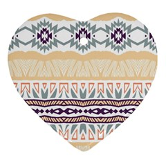 Tribal Design        			ornament (heart) by LalyLauraFLM