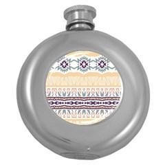 Tribal Design        hip Flask (5 Oz) by LalyLauraFLM