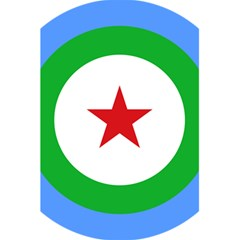 Roundel Of Djibouti Air Force  5 5  X 8 5  Notebooks by abbeyz71