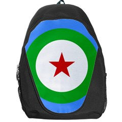 Roundel Of Djibouti Air Force  Backpack Bag by abbeyz71
