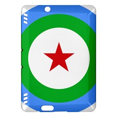 Roundel Of Djibouti Air Force  Kindle Fire Hdx Hardshell Case by abbeyz71