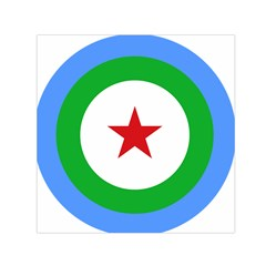 Roundel Of Djibouti Air Force  Small Satin Scarf (square) by abbeyz71