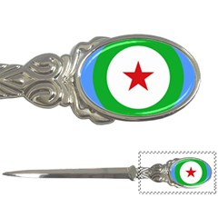 Roundel Of Djibouti Air Force Letter Openers by abbeyz71