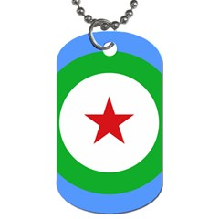 Roundel Of Djibouti Air Force Dog Tag (two Sides) by abbeyz71