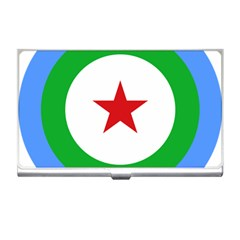 Roundel Of Djibouti Air Force Business Card Holders by abbeyz71