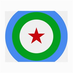 Roundel Of Djibouti Air Force Small Glasses Cloth (2 Side) by abbeyz71