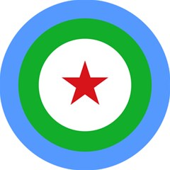 Roundel Of Djibouti Air Force Magic Photo Cubes by abbeyz71