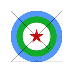 Roundel Of Djibouti Air Force Acrylic Tangram Puzzle (4  X 4 ) by abbeyz71
