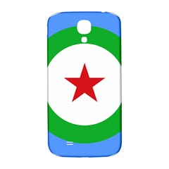 Roundel Of Djibouti Air Force Samsung Galaxy S4 I9500/i9505  Hardshell Back Case by abbeyz71