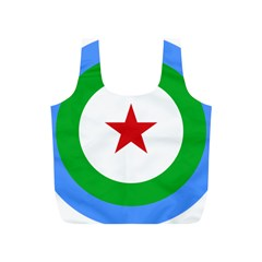 Roundel Of Djibouti Air Force Full Print Recycle Bags (s)  by abbeyz71