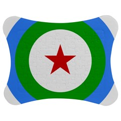Roundel Of Djibouti Air Force Jigsaw Puzzle Photo Stand (bow) by abbeyz71