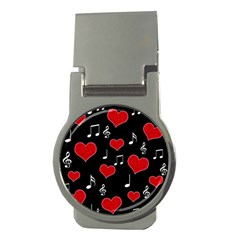 Love Song Money Clips (round)  by Valentinaart