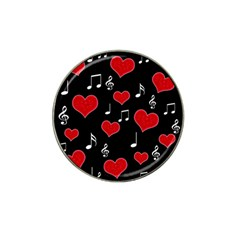 Love Song Hat Clip Ball Marker (4 Pack) by Valentinaart