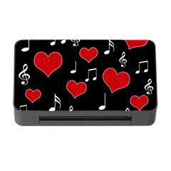 Love Song Memory Card Reader With Cf by Valentinaart