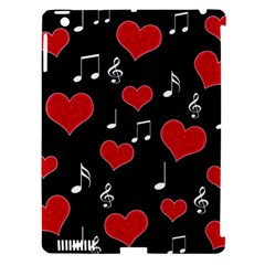 Love Song Apple Ipad 3/4 Hardshell Case (compatible With Smart Cover) by Valentinaart