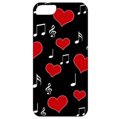 Love Song Apple Iphone 5 Classic Hardshell Case by Valentinaart