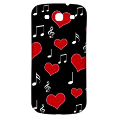 Love Song Samsung Galaxy S3 S Iii Classic Hardshell Back Case by Valentinaart