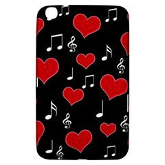 Love Song Samsung Galaxy Tab 3 (8 ) T3100 Hardshell Case  by Valentinaart