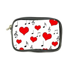 Love Song Pattern Coin Purse by Valentinaart