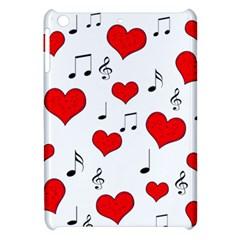 Love Song Pattern Apple Ipad Mini Hardshell Case by Valentinaart