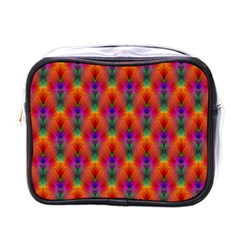 Apophysis Fractal Owl Neon Mini Toiletries Bags