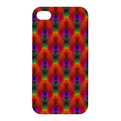 Apophysis Fractal Owl Neon Apple Iphone 4/4s Hardshell Case by Nexatart