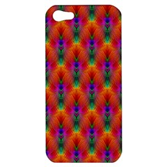 Apophysis Fractal Owl Neon Apple Iphone 5 Hardshell Case by Nexatart