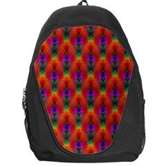 Apophysis Fractal Owl Neon Backpack Bag by Nexatart