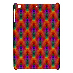 Apophysis Fractal Owl Neon Apple Ipad Mini Hardshell Case by Nexatart