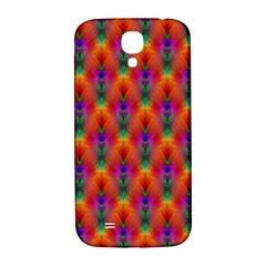 Apophysis Fractal Owl Neon Samsung Galaxy S4 I9500/i9505  Hardshell Back Case by Nexatart