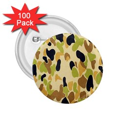 Army Camouflage Pattern 2 25  Buttons (100 Pack)