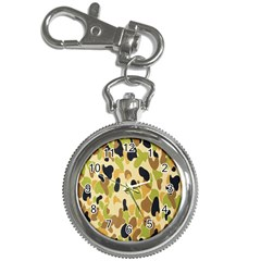 Army Camouflage Pattern Key Chain Watches by Nexatart